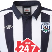 West Bromwich Albion Reveal New Umbro Kits – Shame About The Logo