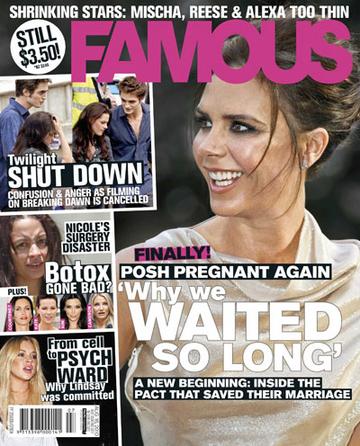 victoria beckham is pregnant again. WAG Victoria Beckham Pregnant Again?