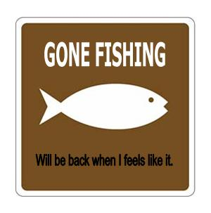 Who ate all the pies gone fishing for the day who ate for Best time to fish today