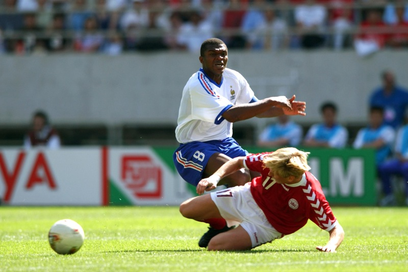 Image result for france vs denmark 2002