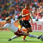Soccer - 2010 FIFA World Cup South Africa - Group E - Netherlands v Denmark - Soccer City Stadium