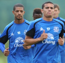 Photos: Everton Train For Everton Chile Friendly