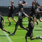 Soccer - Newcastle United Open Training Session - St James' Park