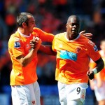 Soccer - Barclays Premier League - Wigan Athletic v Blackpool - DW Stadium