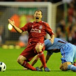 Soccer - UEFA Europa League Final Qualifying Round - First Leg - Liverpool v Trabzobspor - Anfield