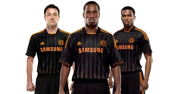 ... League away kit for the 2010-11 season (in alphabetical order from top  left f15a8a0d8