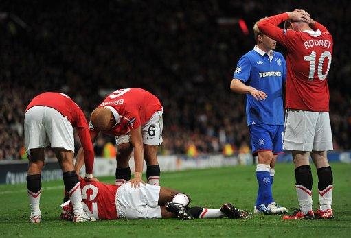 Luis Break Leg Aston Villa