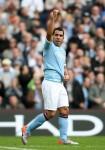 Man City v Chelsea - Carlos Tevez celebrates