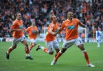 Blackpool v Blackburn Rovers - Matt Phillips celebrates