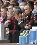 Liverpool v Sunderland - Roy Hodgson dejected
