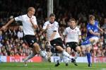 Fulham v Everton - Seamus Coleman shoots