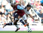 West Ham v Tottenham - Boa Morte and Gio Dos Santos