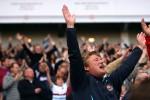 West Ham v Tottenham - Irons fans