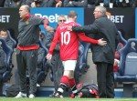 Bolton v Man Utd - Rooney subbed