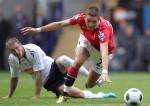 Bolton v Man Utd - Macheda tackled