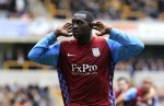 Wolves v Aston Villa - Emile Heskey celebrates