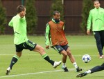 Chelsea v Marseille - Chelsea Training