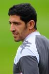 Fulham Training - Rafik Halliche