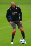 Fulham Training - Diomansy Kamara