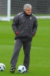 Fulham Training - Mark Hughes