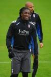 Fulham Training - Dickson Etuhu
