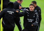 Newcastle United Training Session - Hatem Ben Arfa