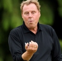 Harry Redknapp Flips Bird At Luka Modric