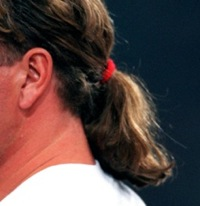 Retro Horror Hair: Paul Gascoigne's Ponytail At Lazio