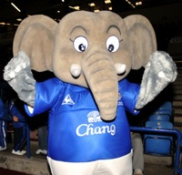 The Football Mascot Index No.6: Changy The Elephant (Everton)