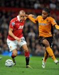 Soccer - Carling Cup - Fourth Round - Manchester United v Wolverhampton Wanderers - Old Trafford