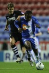 Soccer - Carling Cup - Fourth Round - Wigan Athletic v Swansea City - DW Stadium