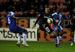 Soccer - Carling Cup - Fourth Round - Wigan Athletic v Swansea City - The DW Stadium