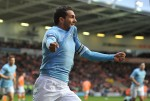 Soccer - Barclays Premier League - Blackpool v Manchester City - Bloomfield Road