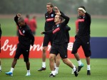Soccer - UEFA Euro 2012 - Qualifying - Group G - England v Montenegro - England Training - London Colney