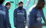 Soccer - UEFA Europa League - Group A - Manchester City v Lech Poznan - Manchester City Training - Carrington Training Ground