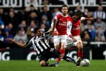 Soccer - Carling Cup - Fourth Round - Newcastle United v Arsenal - St James' Park