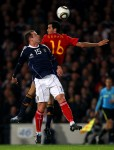 Soccer - UEFA Euro 2012 - Qualifying - Group I - Scotland v Spain - Hampden Park