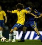 Soccer - International Friendly - Ukraine v Brazil - Pride Park Stadium