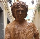 Amazing Diego Maradona Statue Shows Up In Naples