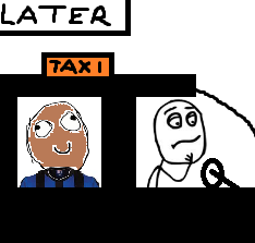 Viral Football: Taxi For Maicon