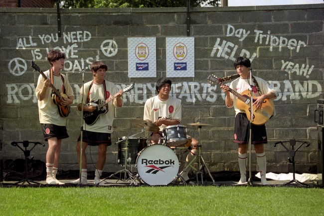 Soccer - NEW LIVERPOOL KIT-BEATLES