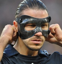 Top 16 Sinister Photos Of Masked Footballers