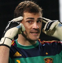 Skills: Iker Casillas Saves Newspaper Missile (Video)