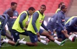 Soccer - International Friendly - England v France - England Training and Press Conference - Wembley Stadium