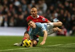 Soccer - Barclays Premier League - Manchester City v Manchester United - City of Manchester Stadium