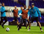 Soccer - UEFA Champions League - Group A - Tottenham Hotspur v Inter Milan - Inter Milan Training Session - White Hart Lane