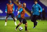 Soccer - UEFA Champions League - Group A - Tottenham Hotspur v Inter Milan - Inter Milan Training Session - White Hart Lane