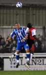 Soccer - FA Cup - First Round Replay - Woking v Brighton and Hove Albion - Kingfield Stadium