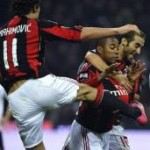 Robinho Feels The Full Force Of A Zlatan Ibrahimovic Flying Kick (Video)