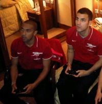 Arsenal Stars Play FIFA 11: Cesc Fabregas & Gael Clichy Are The 'Unstoppable Couple'